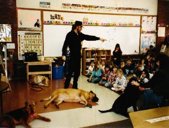 Dog behavior and training seminars for buisnesses and groups